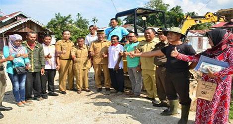 Warga Kompak, Pagang Dalam Benahi Drainase Jadikan  Kota Padang Ikon Swadaya Pembangunan