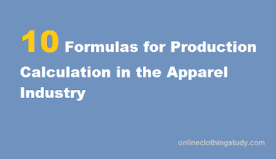 production formula