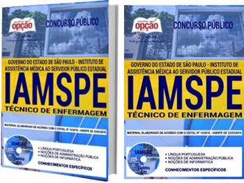 Apostila Concurso IAMSPE 2018 Técnico em Enfermagem