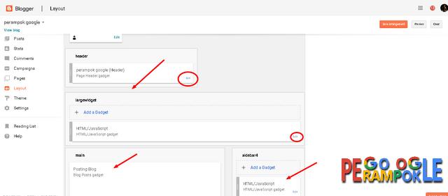 cara memperbarui layout blogger ke versi terbaru
