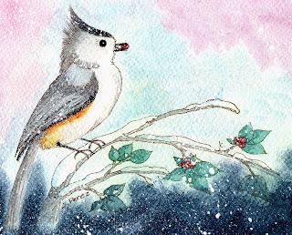 Titmouse bird_Susan Perez