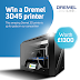 Dremel 3D Printer Giveaway #Worldwide