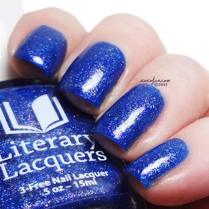 xoxoJen's swatch of Literary Lacquers The Happy Prince