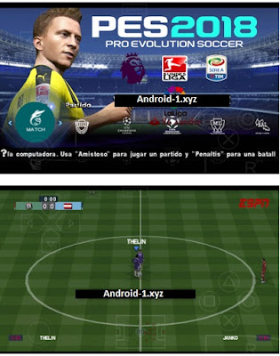 Download Pes 2018 Lite Android v3 Offline PSP ISO + Save Data Full Transfer