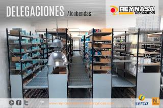 Reynasa duplica la capacidad de almacenaje de su delegación de Alcobendas