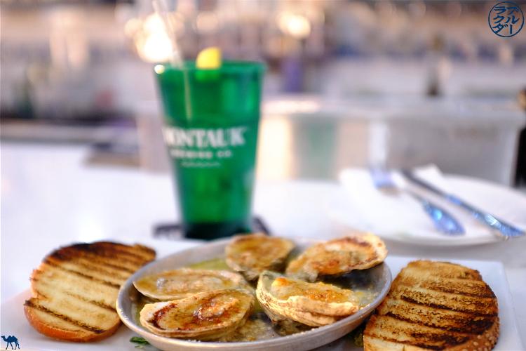 Le Chameau Bleu - Restaurant à Patchogue The Catch Oyster Bar  - Adresses sur Long Island New York - Huitres gratinées