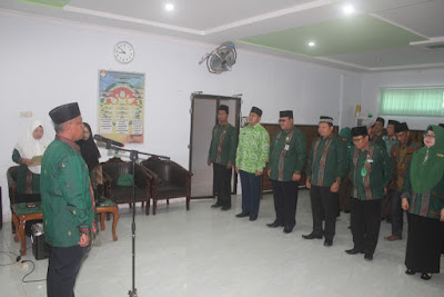 Kakankemenag Lantik Dewan Juri Perlombaan Dalam Rangka HAB Ke-73