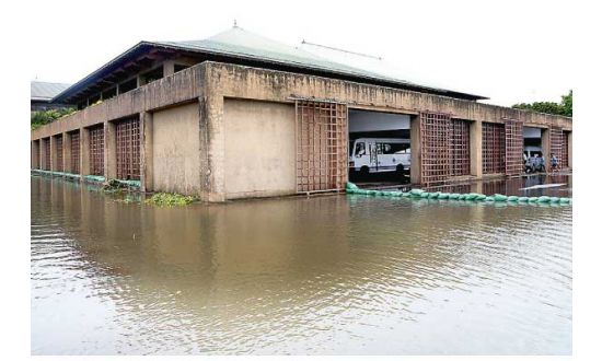 Sri Lanka Parliamentary premises Flood