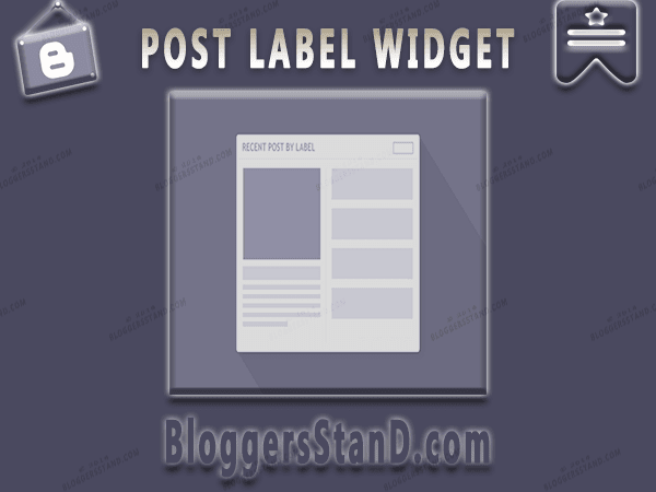 How To Add Responsive Recent Posts Label Widget In Blogger template