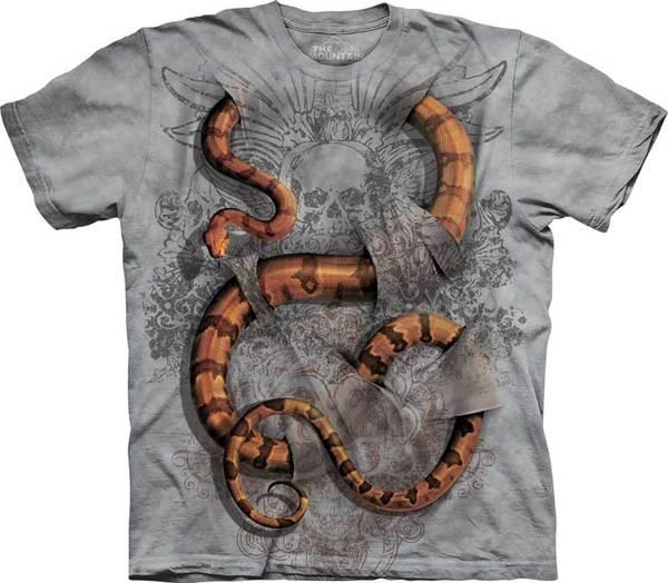 f53e77441 Camisetas 3D. Camisetas com estampas realistas produzidas pela empresa  americana The Mountain.
