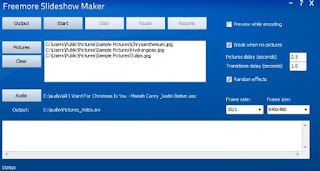Freemore Slideshow Maker