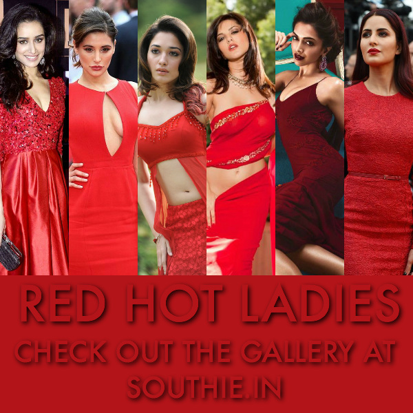 Hot Ladies in Shades of Red will make you melt. Check out the full list of actors who look stunning in Red.