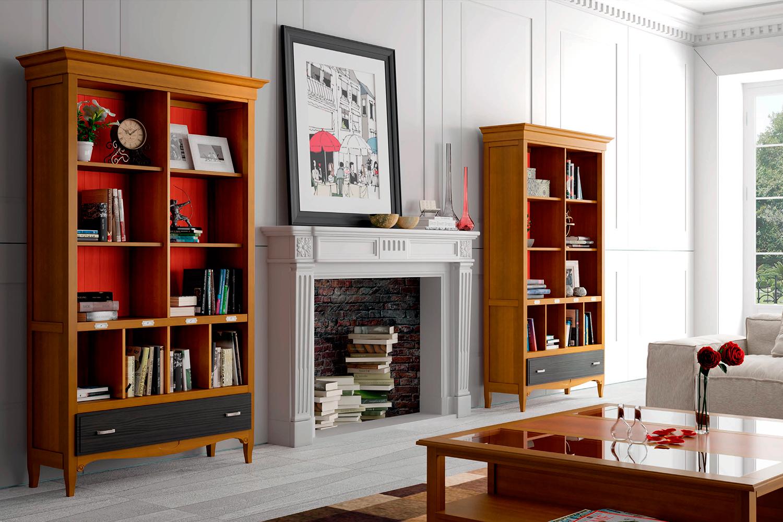Muebles de sal n for Librerias para salon