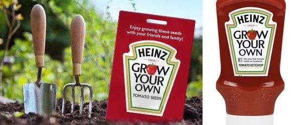 Heinz Tomato Ketchup, Grow Your Own, win your own bottle of ketchup competition 2016
