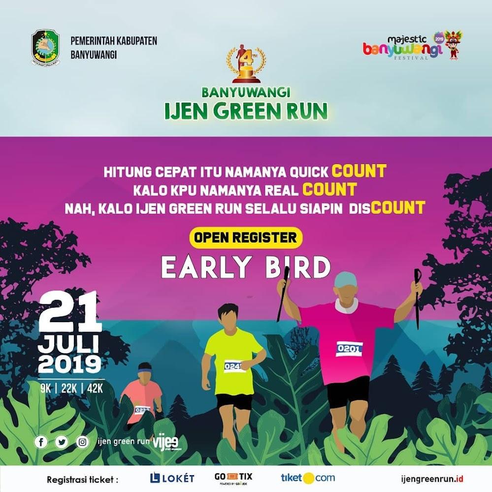 Banyuwangi Ijen Green Run • 2019