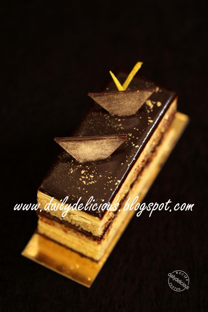 Glacage Chocolat Pour Layer Cake