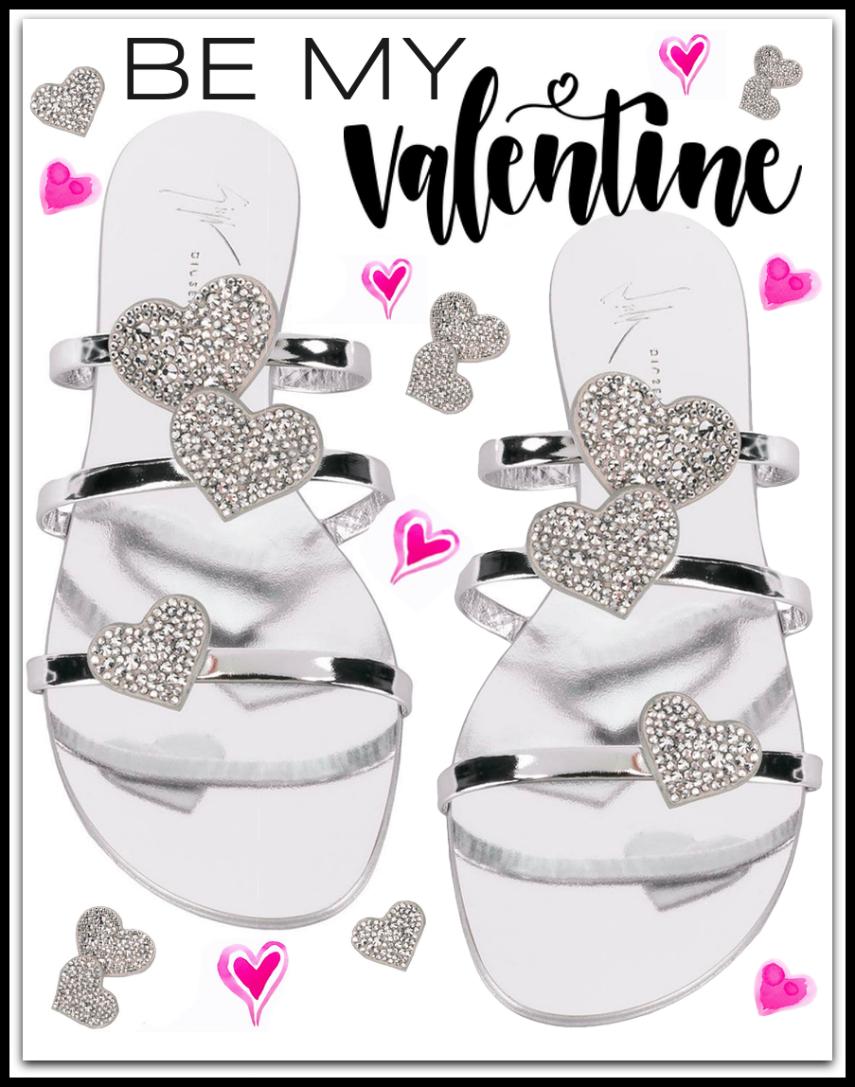 GIUSEPPE ZANOTTI DESIGN Hearts sandals
