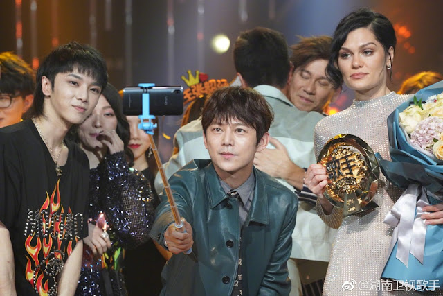 Jessie J wins Chinese talent show Singer 2018