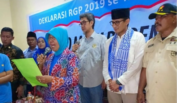 Sandi Hadiri Deklarasi RGP Se-Madura Raya, Tatik Maryana: Insha Allah 17 April Prabowo Presiden