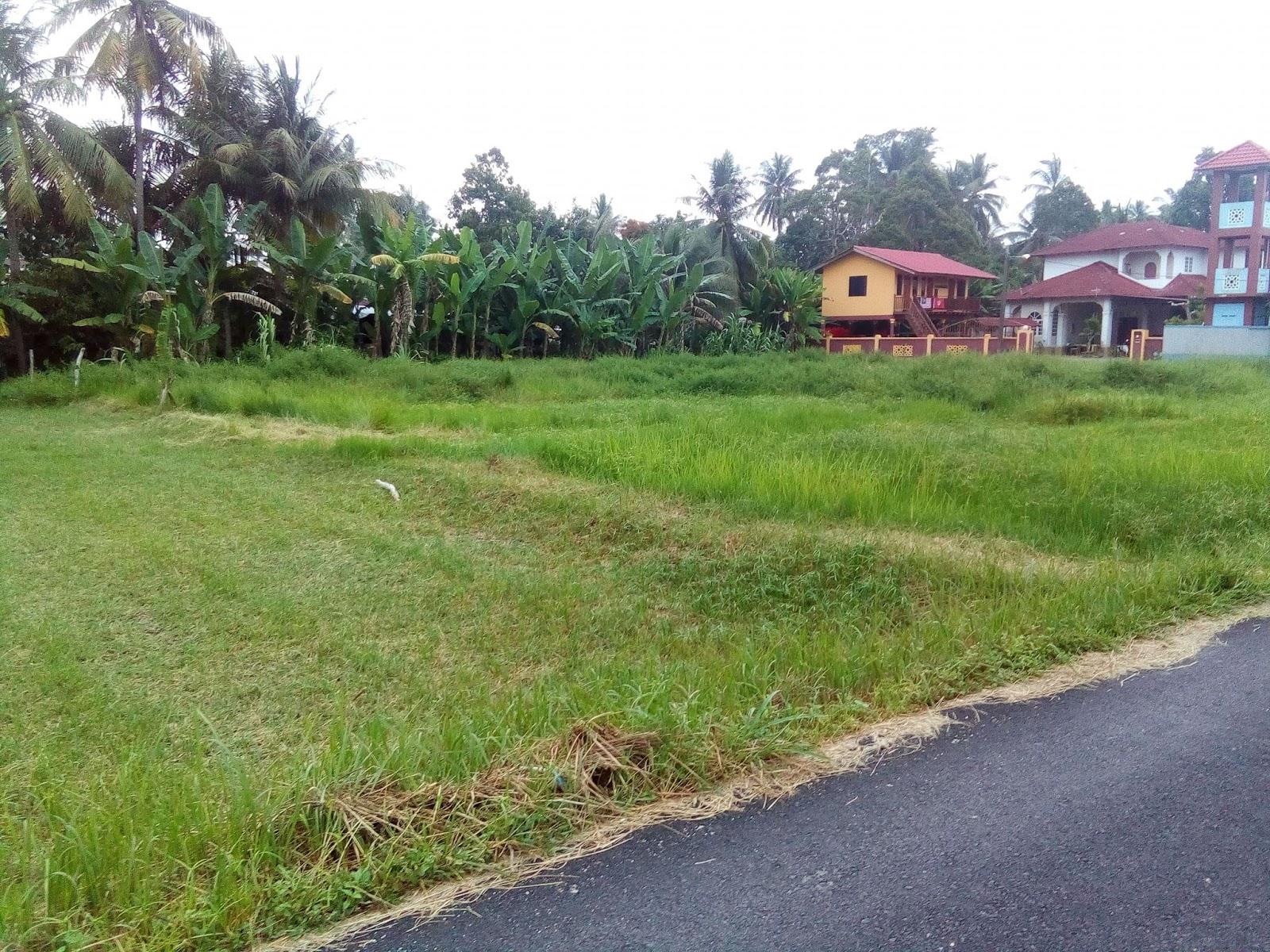 Lawatan tapak bina rumah tanah sendiri Kelantan