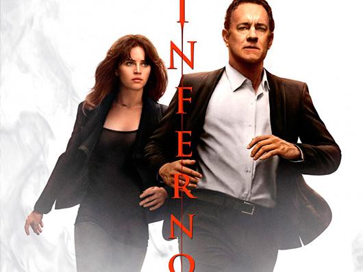 Nuevo póster internacional de 'Inferno' de Ron Howard con Tom Hanks