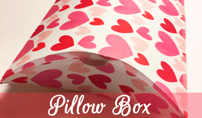 Freebie Valentine Pillow Box DIY