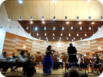 Yoonhee Kim la Filarmonica Oltenia