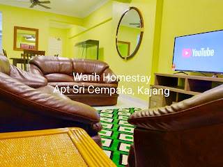Warih-Homestay-Sri-Cempaka-Cozy-Living-Hall