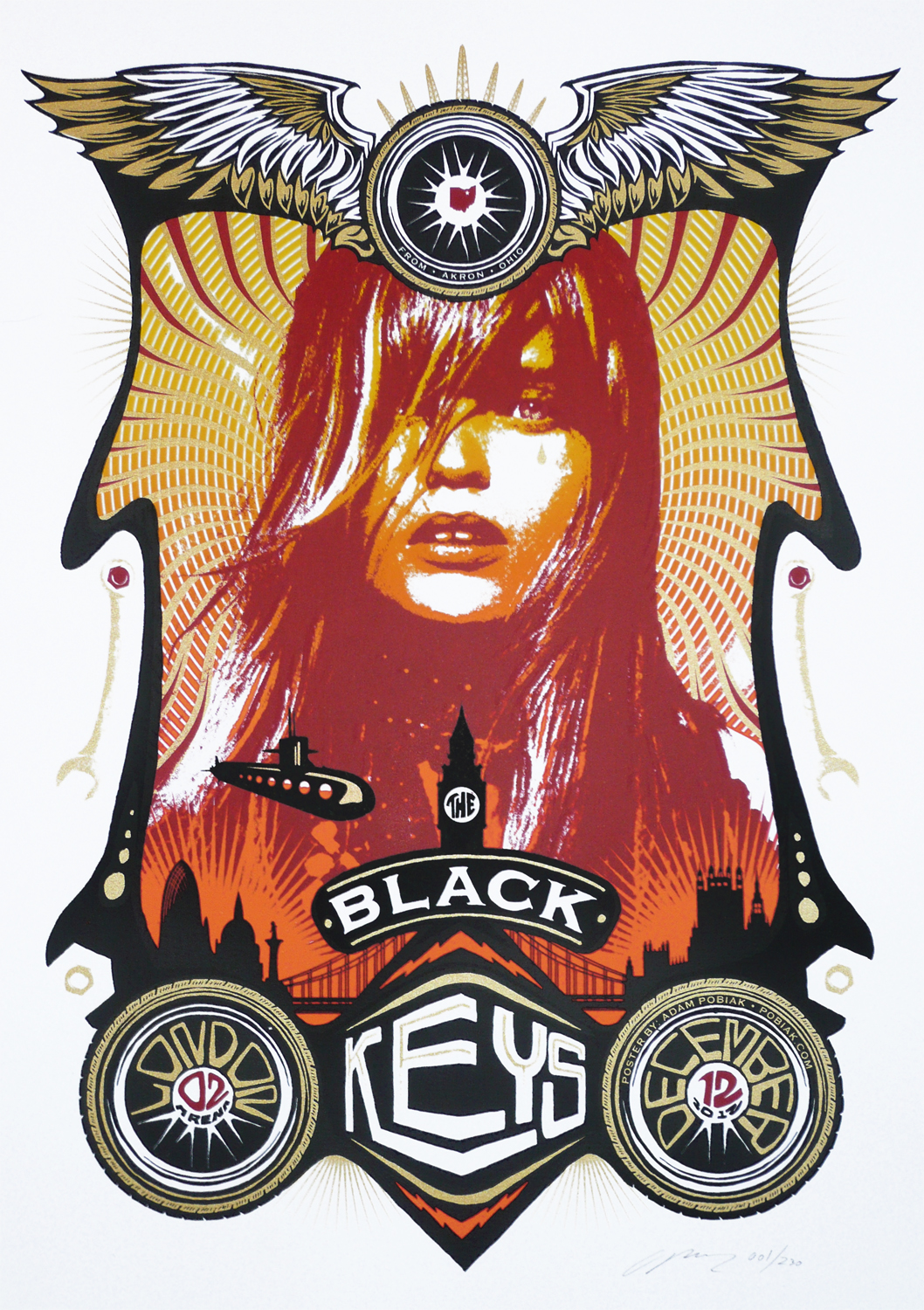 Inside The Rock Poster Frame Blog Black Keys London