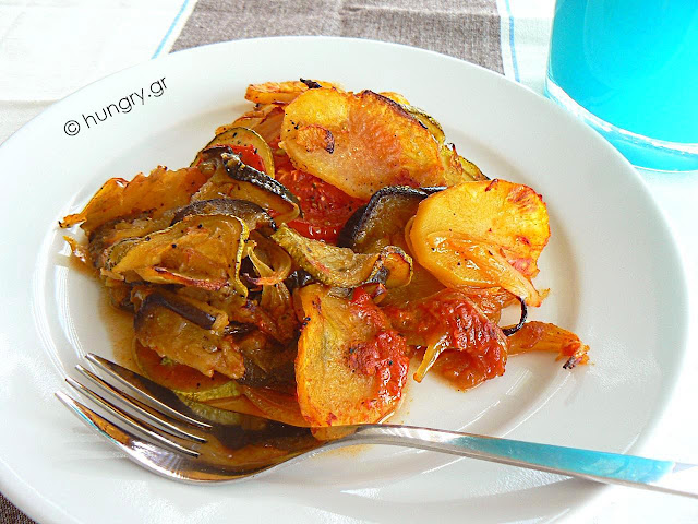 Baked Vegetables-Briam