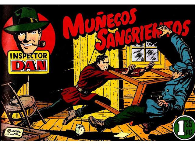 Inspector Dan - Muñecos Sangrientos - Clasicos