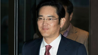 Samsung Leader Arrested