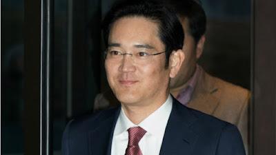 Samsung Leader Arrested