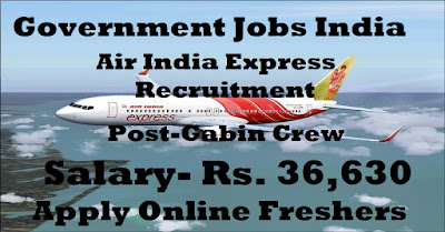 Air India Express Jobs 2018-19 Apply Trainee Cabin Crew-www.bengalstudent.in