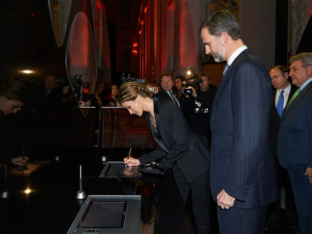 King Felipe of Spain, Queen Letizia of Spain attend 'Antena 3' 25th Anniversary Reception