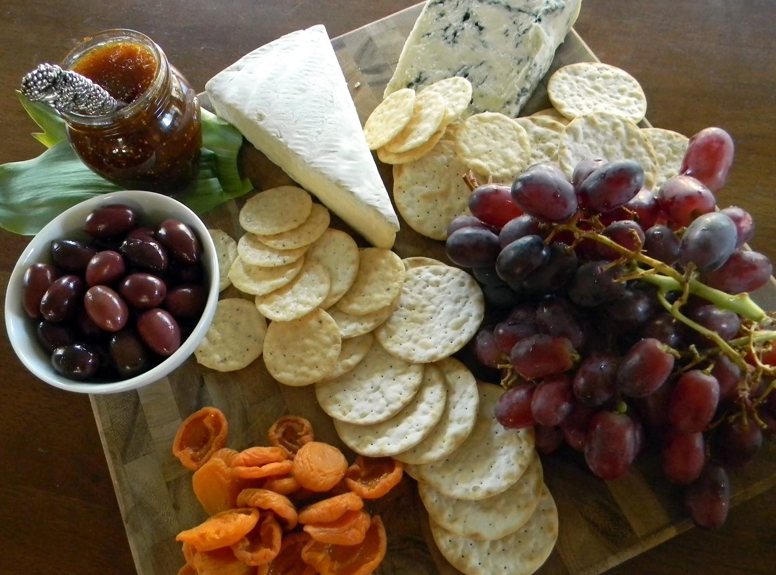 Cheese Plate Presentation