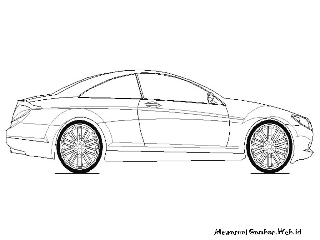 gambar mobil sport untuk diwarnai terbaru auto electrical wiring