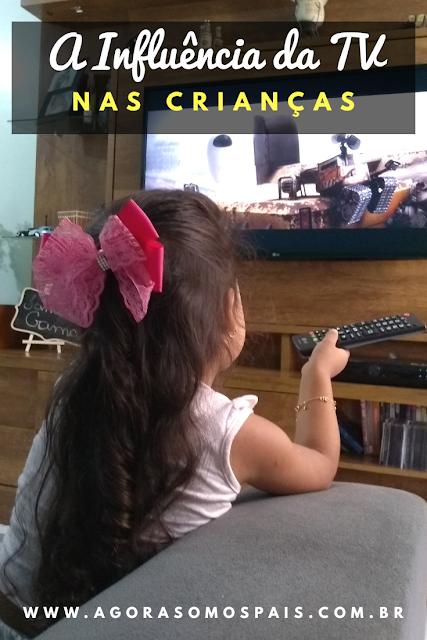 A INFLUÊNCIA DA TV NAS CRIANÇAS