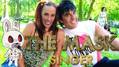 Adrian Uribe y Consuelo Duval en The Masked Singer