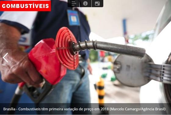Preço da gasolina diminui e do diesel sobe nas refinarias