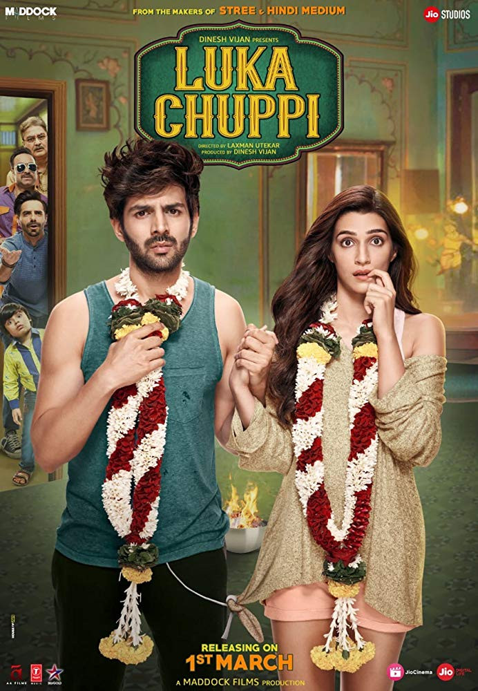 Luka Chuppi 2019 Hindi Movie Pre-DVDRip 550Mb