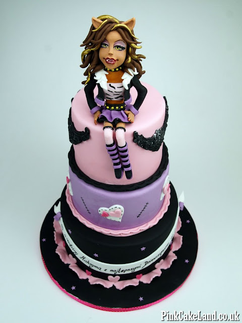 Clawdeen Wolf Cake London