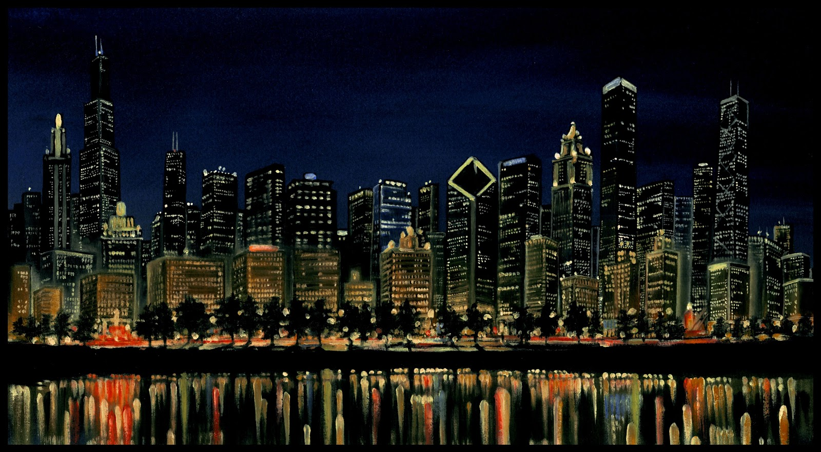 New York Skyline Wallpaper Free Desktop Full Hd Wallpapers