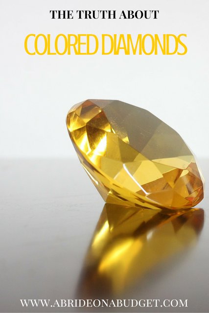 Have you been seeing all the commercials for yellow diamonds? What about chocolate ones? Find out what the deal is from www.abrideonabudget.com.