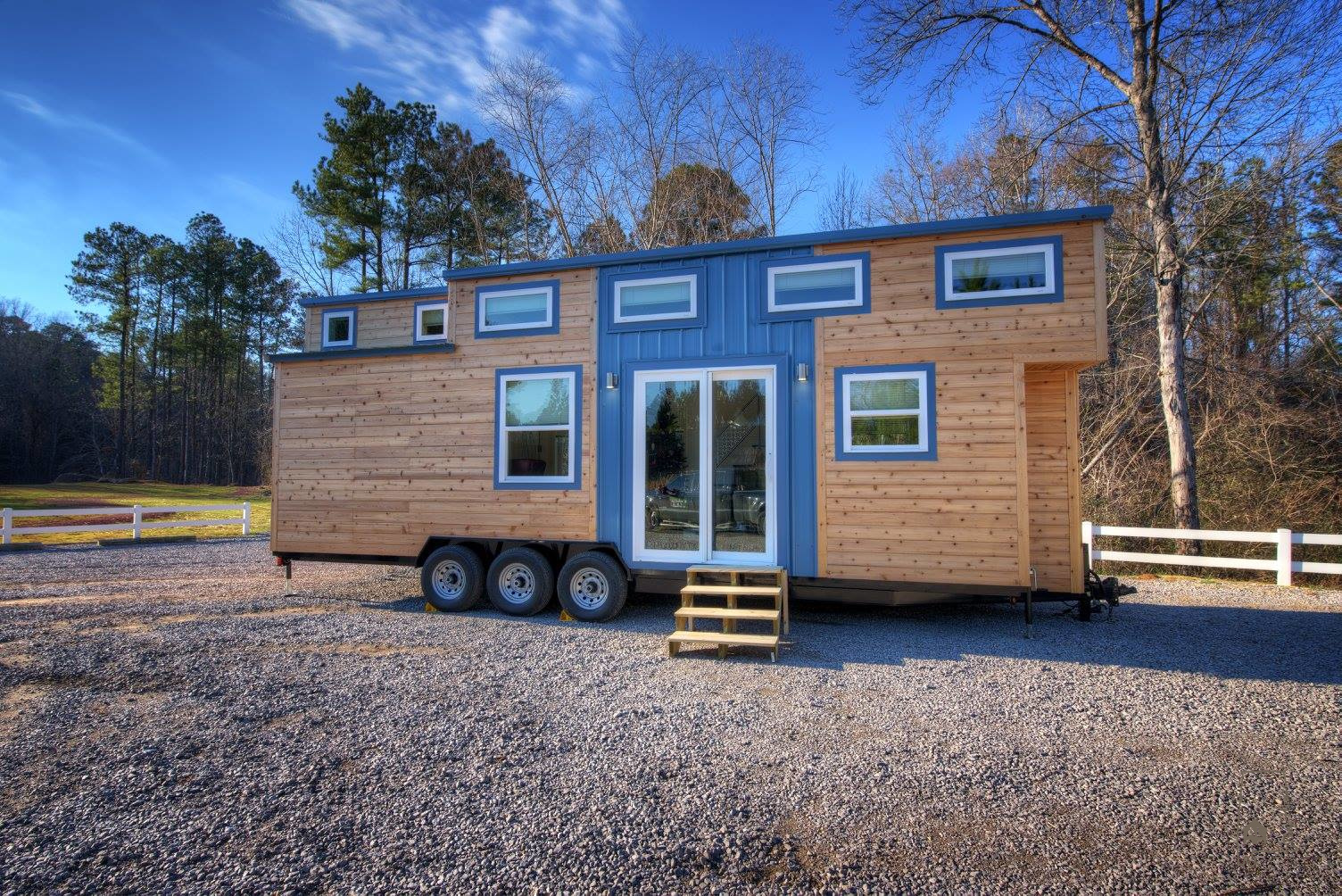 Tiny house town freedom v2 by alabama tiny homes 304 sq ft for Home builders in south alabama