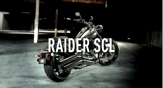 The Raider SCL is powered by the same V-Twin engine