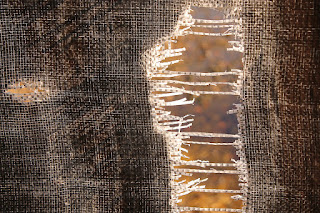 Frayed Fabric