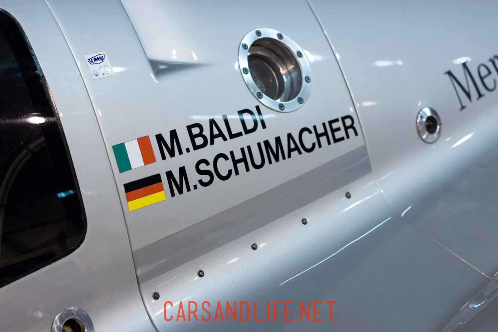 Mercedes-Benz C11 | Schumacher's Group C Car