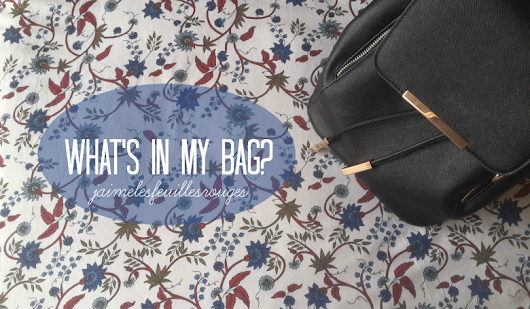 What's in my bag? - Backpack edition!