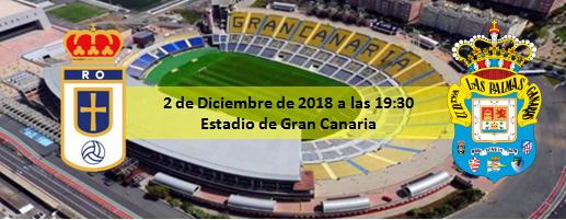 Previa Real Oviedo - UD Las Palmas 2 Diciembre 19:30